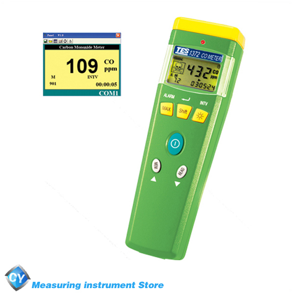 TES-1372 Portable CO Gas Detector with Manual Data Memory and Read function(China (Mainland))
