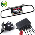 3in1 Car Video Parking Assistance 4 3 Inch TFT Auto Mirror Monitor With Rear View Camera