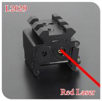 NEW L2029 MINI Red Dot Sight Laser Sight  With Detachable Picatinny Rail for Pistol hunting optics