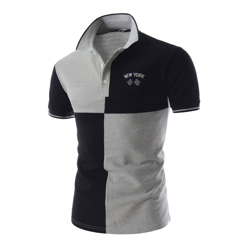 new arrival 2016 summer short sleeve casual mens polo tops golf tennis polo shirt for men slim fit men's polo shirts branded(China (Mainland))