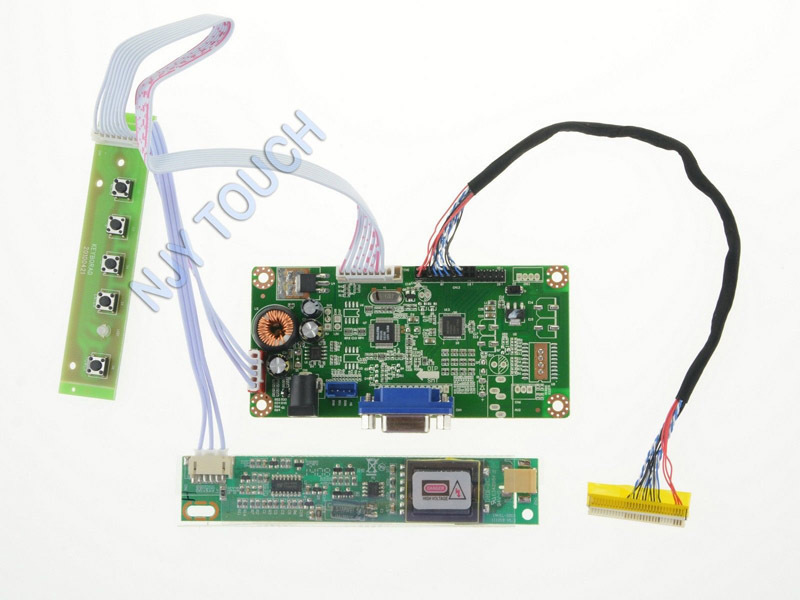 """Free Shipping VGA LVDS LCD Controller Board Adapter for 13.3"""" LTD133EX2Y LCD Screen(China (Mainland))"""