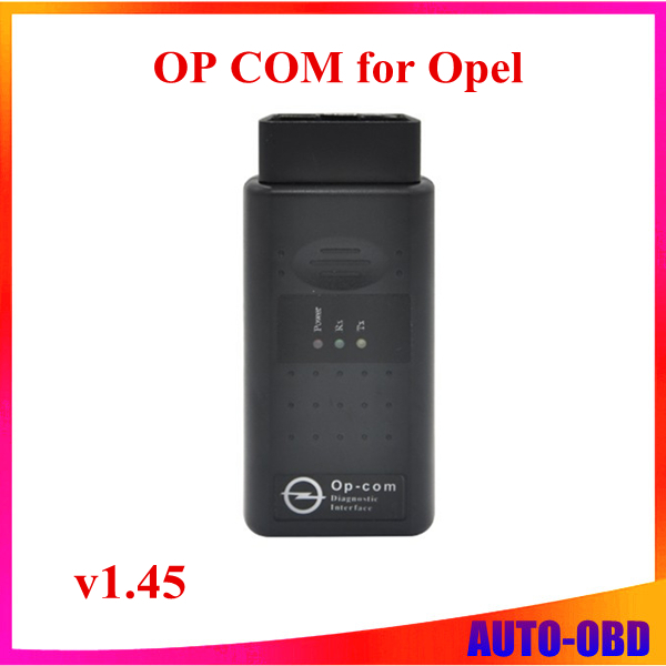 Latest version op com v1.5 opel diagnosis interface scanner can obd2 for opel V1.45 op com opel can bus interface(China (Mainland))
