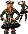 Ensen grade Karibik Caribbean pirate queen costume Halloween cosplay stage performance clothing Mono Eye modelling costume