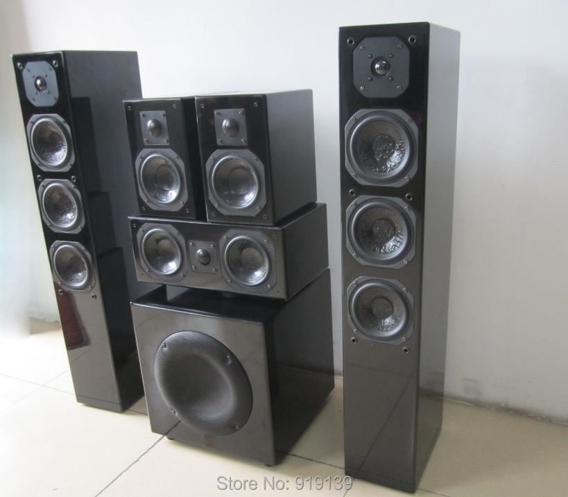 Great Sound Cheap Price Quality 5.1 Home Audio Hifi System Speaker Active Subwoofer 10 inch 3D Cinema System(China (Mainland))