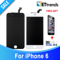 10PCS LOT Grade AAA NO Dead Pixel LCD for iPhone 6 LCD Screen Touch Digitizer with
