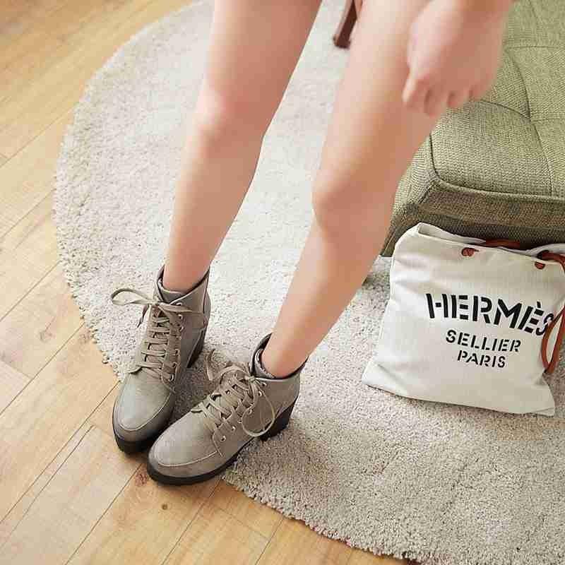 ซื้อ พลัสSize34-43 2016ใหม่เซ็กซี่เลดี้ชุดข้อเท้าบู๊ทส์แพลตฟอร์มส้นสูงปั๊มฤดูหนาวผู้หญิงรองเท้าข้อเท้าชุดSBT2361