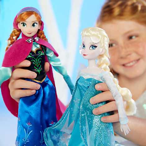 Boneca Elsa Anna Doll 12 Inch Boneca Elsa Princess and Anna Olaf Gift Elsa Anna Girl Gift Doll Toys Full Joint Moveable(China (Mainland))