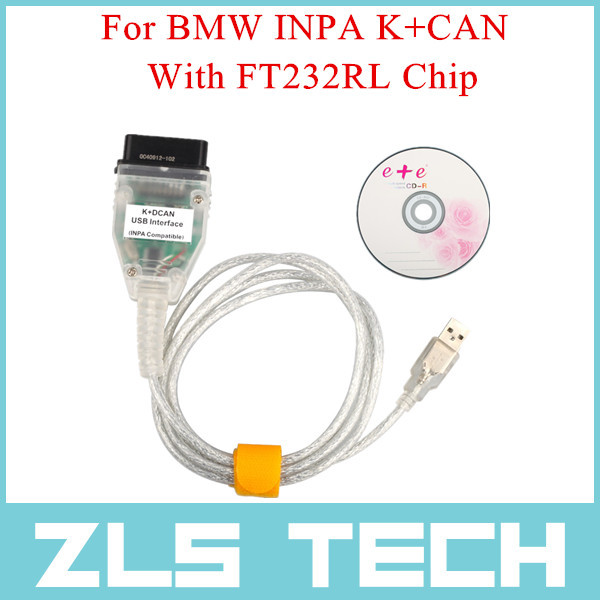 Best Price For BMW INPA K+CAN With FT232RL Chip Free Shipping(China (Mainland))