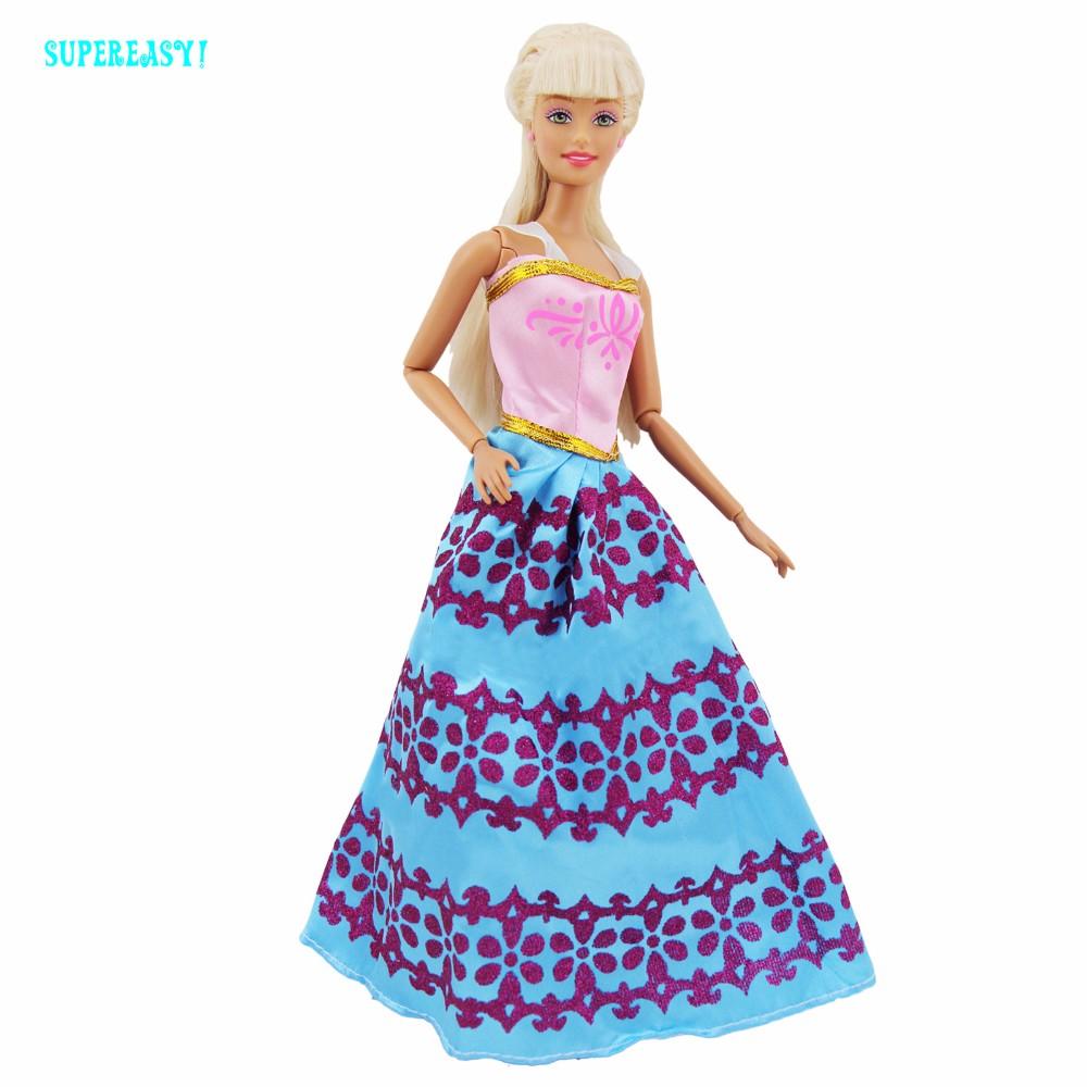 Handmade Costume Princess Robe For Elsa Queen Dance Social gathering Costume Garments For Barbie FR Kurhn Doll Equipment Dollhouse xMas Reward