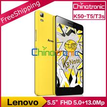 "Originale Lenovo K3 Nota K50-T5 K50-T3s Android 5.1 Del Telefono Mobile MTK6752 Octa Core Dual SIM 4G LTE 5.5 ""FHD 1920x1080 P 2G RAM 13MP(China (Mainland))"