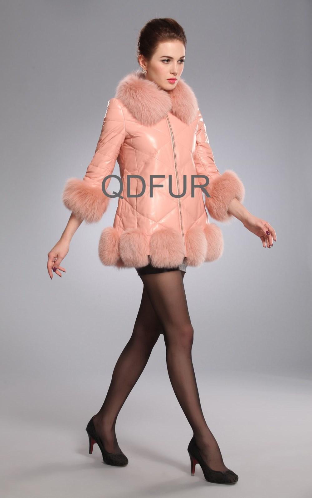 Женская одежда из кожи и замши Global Fur B80106