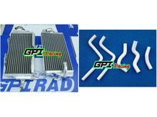 Buy aluminum racing RH&LH Radiator +HOSE for Honda CR125 CR125R CR 125R 00 01 2000 2001 NE GPI for $95.00 in AliExpress store
