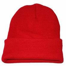 Skullies بيني للجنسين مترهل قبعة مشغولة من الخيط قبعة بتصميم هيب هوب الشتاء الدافئ قبعة تزلج للرجال النساء السيدات الخريف 2019 ترهل القبعات(China)