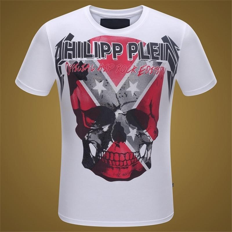 "New Arrival Summer Men Short Sleeve T-shirt Slim Fit Skull Sport Brand T-shirt ""official"" Size:M-XXL High Quality 8072(China (Mainland))"
