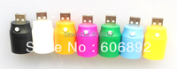 Free shipping,USB LED light,also can used for power Bank like as the flashlight, 5pcs/lot