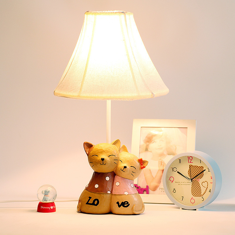 NEW Wedding lamp children room desk lamp The bedroom the head of a bed lamp Rural birthday gift<br><br>Aliexpress