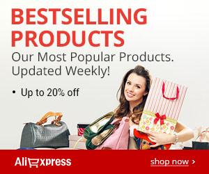 AliExpress Bestselling