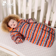 2016 New Baby Clothing  Envelope Conjoined Multi-function Newborn Autumn And Winter Coat Down All Of The Children's Clothing (China (Mainland))