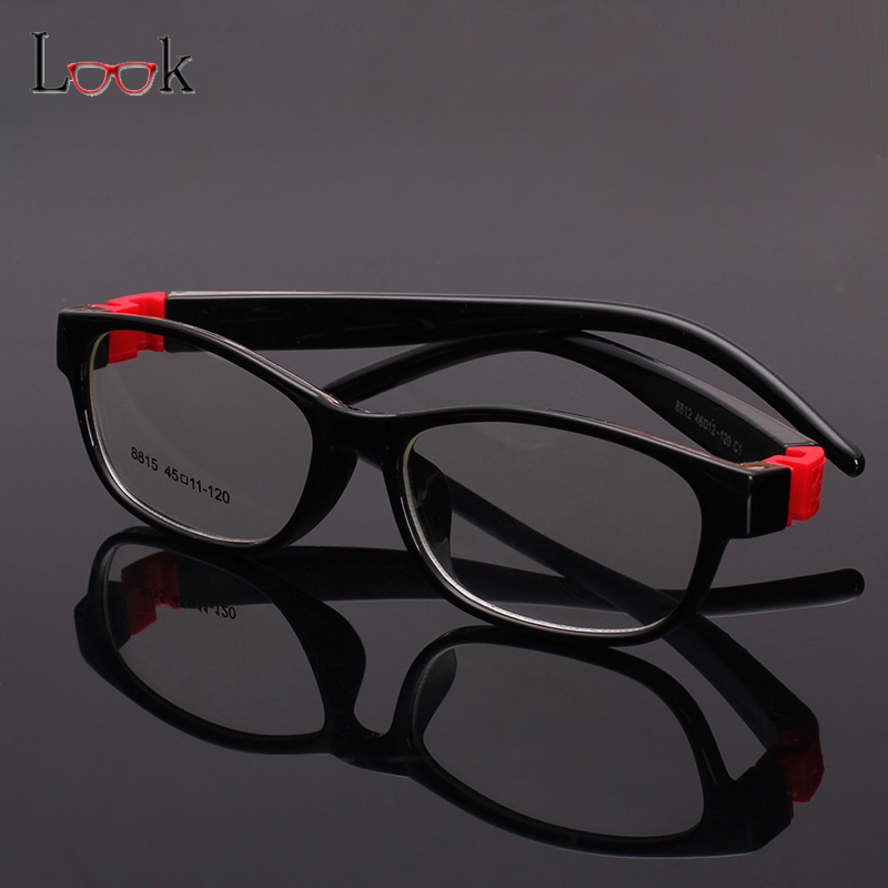 Bendable Rubber Eyeglass Frames : TR90 Eyeglasses Kids Frames Eyewear Optical Glasses Frame ...