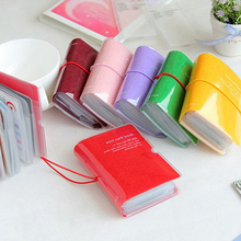 Credit Card Holder/Case card holder wallet Business Card Package PU Leather Bag bank card 32p(China (Mainland))