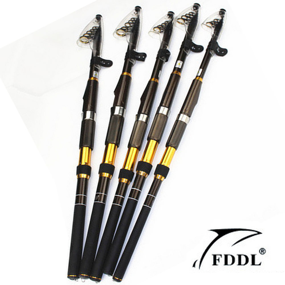 2016 hot sell top quality carbon fiber telescopic fishing for Best telescoping fishing rod