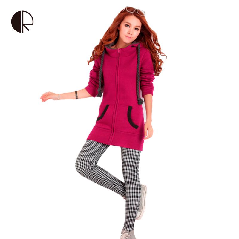 2014 Women Hoodies Fashion Fleece Pullovers for Women Autumn Coat Long Sleeve Sweatshirts for Lady Hoody Loose 4XL