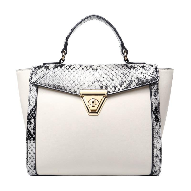 2016 Fashion Snake Pattern Women Purses and Handbags High Quality Designer Shoulder Bags Tote PU Leather Ladies Messenger Bag(China (Mainland))