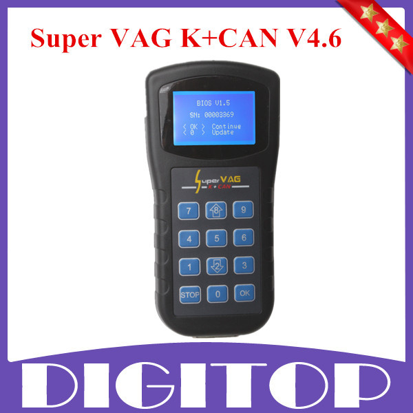 Xhorse Super VAG K+CAN V4.6 VAG K+CAN K CAN 4.8 Commander Auto Diagnostic Scanner Free Shipping(China (Mainland))