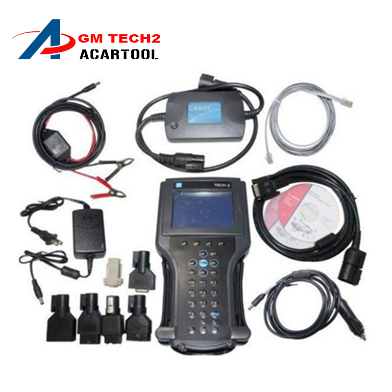 Best Quality GM TECH2 Scanner Support 6 Softwares(GM,OPEL,SAAB ISUZU,SUZUKI,HOLDEN)GM Tech 2 diagnostic tool Without Plastic box(China (Mainland))