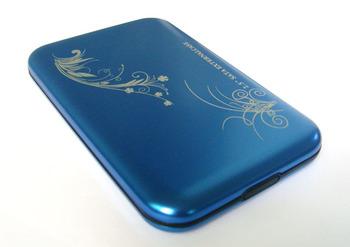 Free shipping usb2.0 2.5inch With Retail box sata external hard disk drive HDD case enclosure