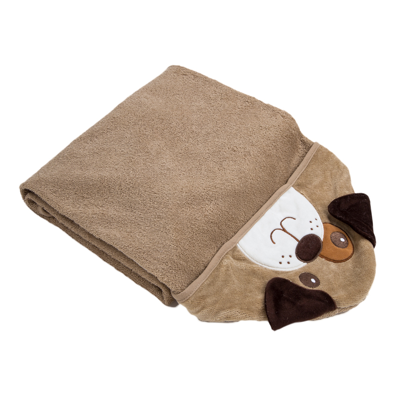 Toalla Baño Infantil:Baby Animal Hooded Bath Towel