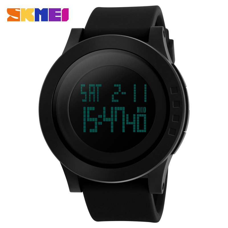 skmei fashion sports watches silicone led digital