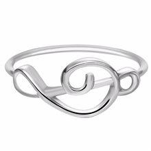 Chandler marka najlepszych przyjaciół miłość kształt pierścień Anel Feminino środkowy palec pierścionki na środek palca Toe Bague przyjaźń wiecznie na zawsze najlepsze prezenty(China)