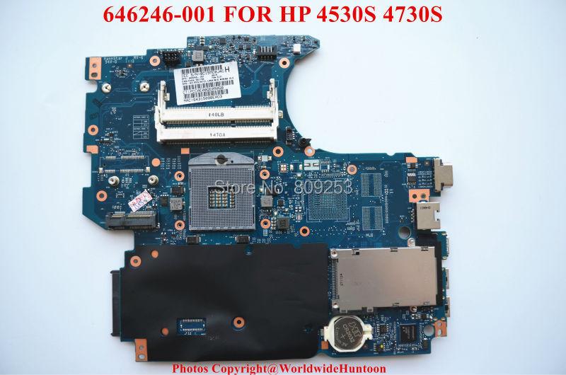 Здесь можно купить  Original laptop motherboard for HP 4530S 4730S,646246-001,HM65 PGA989 DDR3,Fully tested&Free shipping  Компьютер & сеть