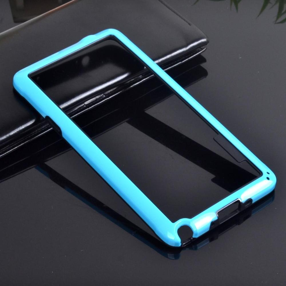 Hot Retail 2pcs hybrid soft rubber protective frame tpu Bumper phone bags case For Samsung galaxy Note 4 IV n9100 n910 cover(China (Mainland))