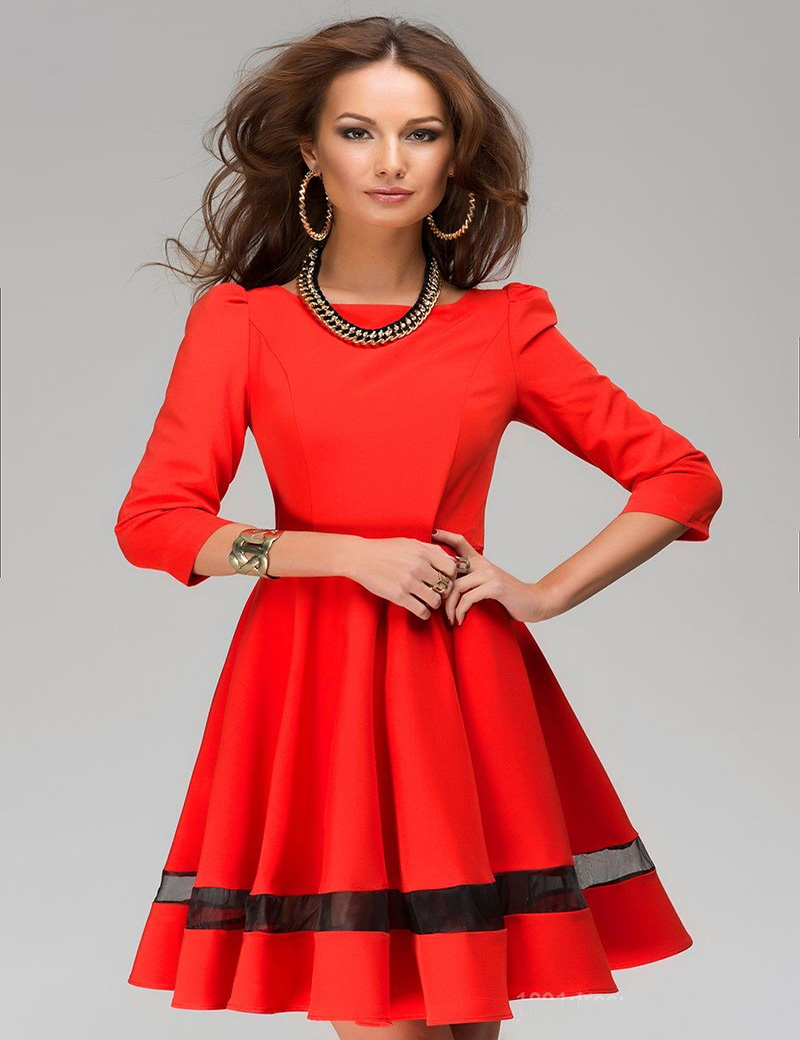Images of Holiday Dresses For Women - Reikian