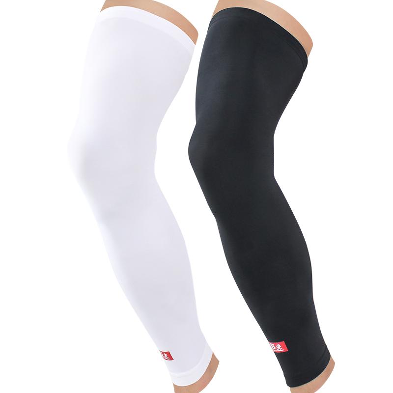 New Kuangmi Breathable Sports Silk Knee Sleeves Safety Elastic Long Leg Knee Support Protector Leg Warmer Shin Guard(China (Mainland))