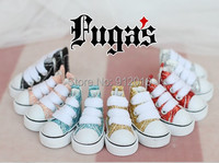 Lovely Shining Canvas Sports Shoes for BJD 1/8 Lati-y OB Blythe DAL Xaga Doll Shoes
