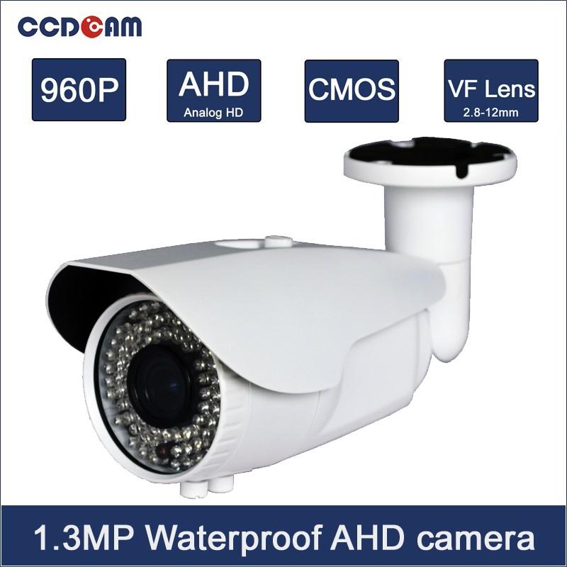 Фотография High Definition home Security CCTV Camera with 2.8-12mm focus VF lens for surveillance system