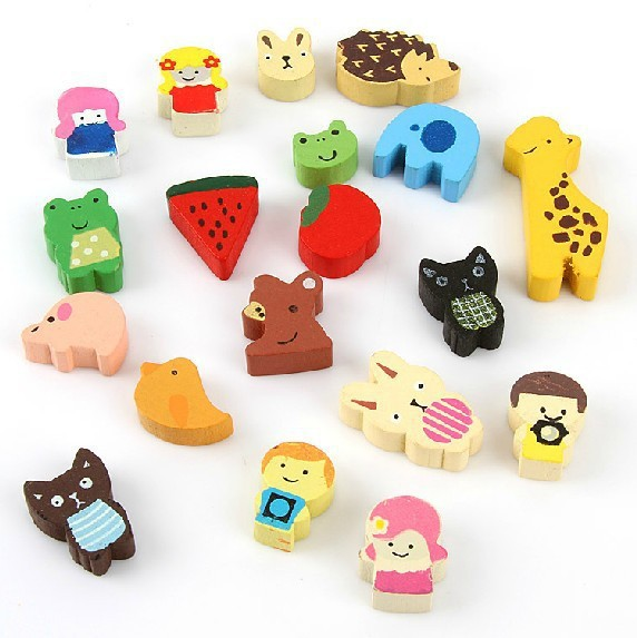 High quality Magnetic animal blocks(1 set=19 pieces),best toy for children(China (Mainland))
