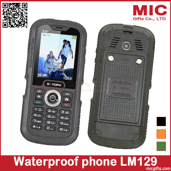 LM129 Long standby time Three anti-phone Nomu original phone function waterproof shockproof mobile P422(China (Mainland))