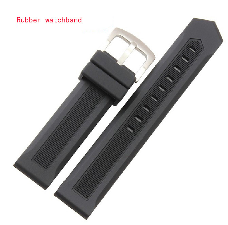Sport Watches band Straps Men Waterproof Watch Accessories 20mm HIGH QUALITY Rubber silicone watchband bracelet free shipping <br><br>Aliexpress