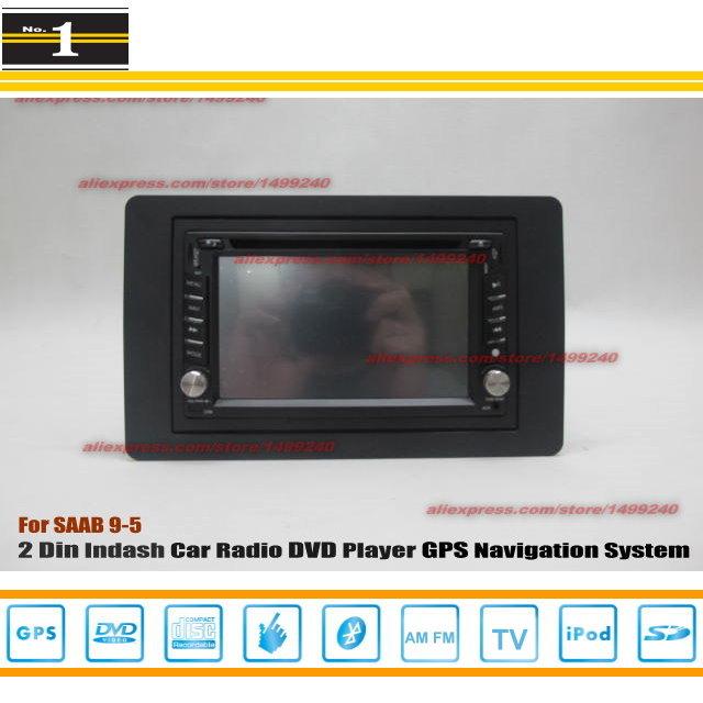 For SAAB 9-5 2006~2012 - Radio CD DVD Player & GPS Navigation System / Double Din Car Audio Installation Set(China (Mainland))