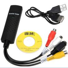 USB 2.0 Video easycap TV DVD VHS Video-Capture-Karte Audio AV easiercap Adapter für Computer/CCTV-Kamera(China (Mainland))