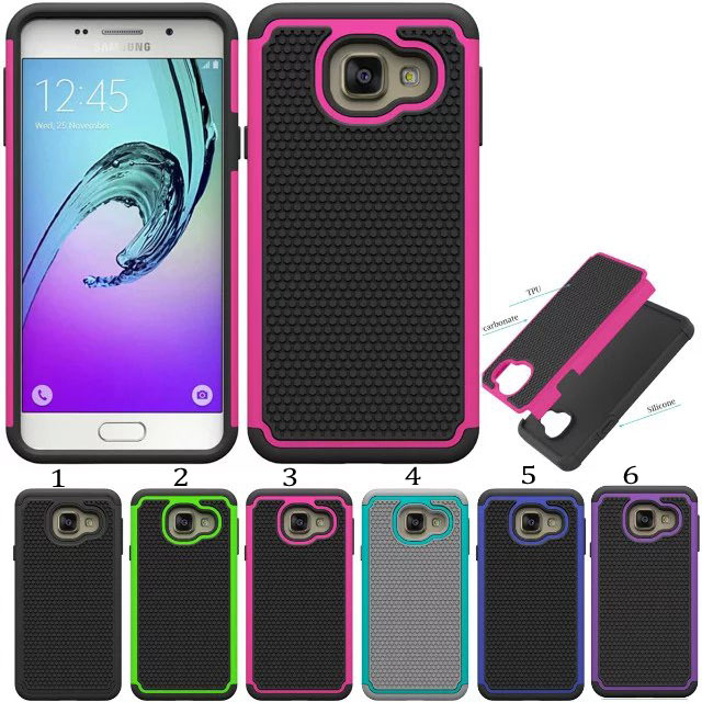 100pcs/lot 2 in 1 Protective Hybrid Combo Football Heavy Duty Hard Skin Case For Samsung Galaxy A3 2016 A310 Robert Phone Cover(China (Mainland))