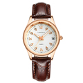 Fashion Ladies quartz watch Rose gold diamond dial watch womens fashion casual watches simple women business