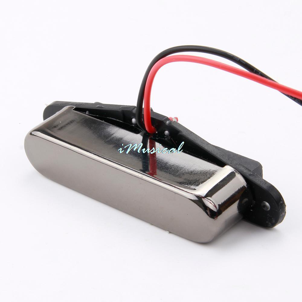 Free Shipping Gray Electric Guitar Single Coil Neck Pickup with Great Sound Guitar Parts(China (Mainland))