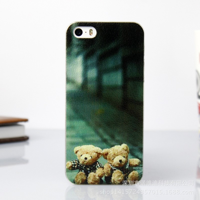 Mobile Phone Cases For iphone 5 5s Se Coque Cover Phone Cases Tiger Art Print Silicone Multi-pattern