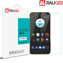 RAUGEE 2.5D 9H Anti-Explosion Non Full Cover Tempered Glass 5.2inch ZTE Blade V7 Phone Screen Protector Film - raugee World store
