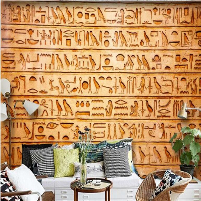 Compare prices on egyptian murals online shopping buy low for Custom mural cost